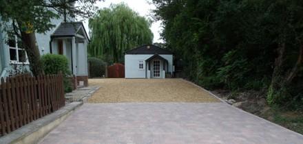 Gravel driveway 1